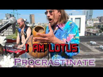 I Am Lotus - Procrastinate (Live rooftop session Rotterdam)